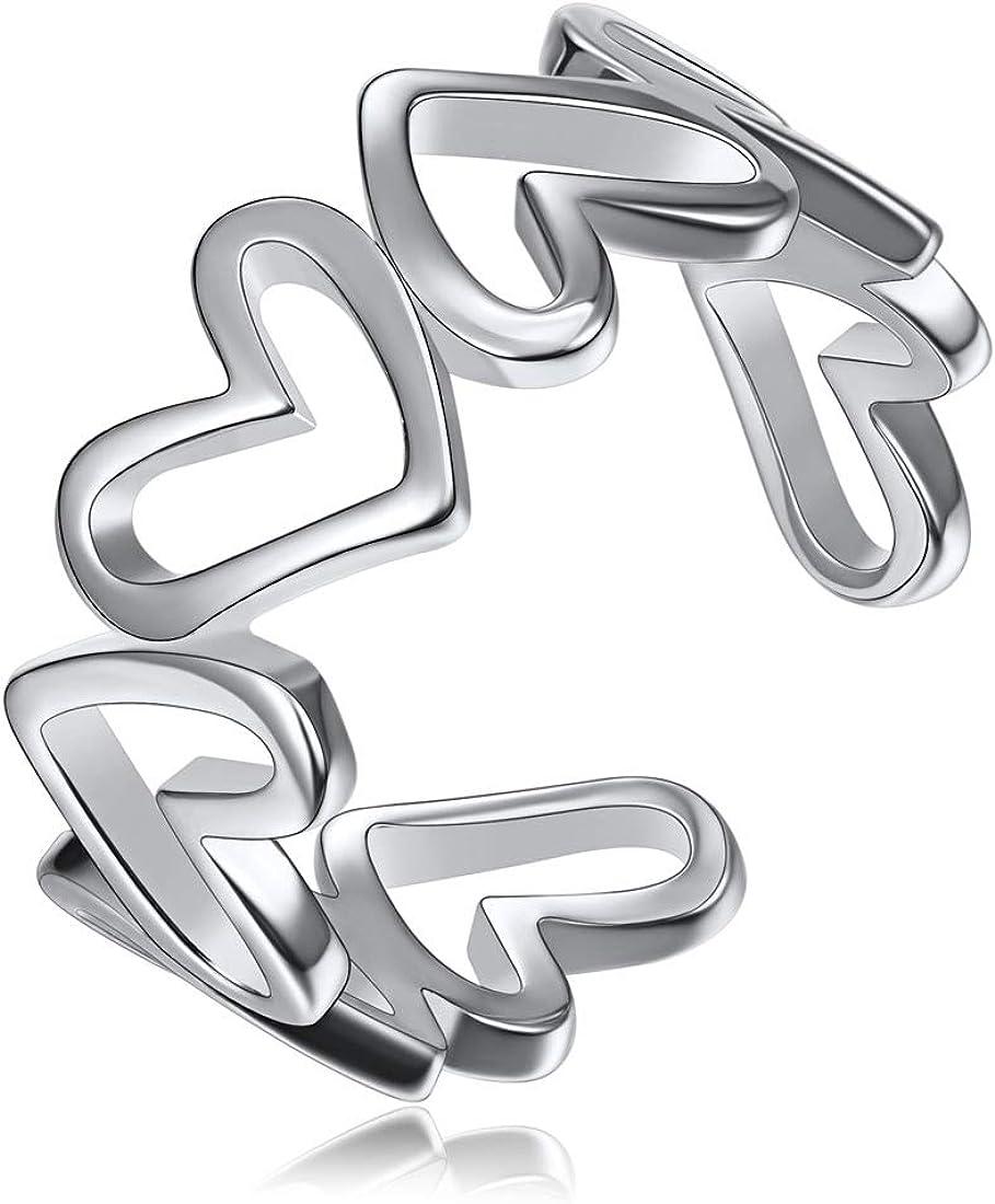 ChicSilver 925 Sterling National uniform free shipping Silver Ring Teardrop Minimalist High Detroit Mall Pol