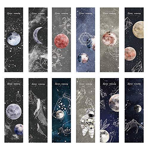 Space Roaming Lesezeichen für Männer, Frauen, Kinder, Mädchen, Jungen, 30 Stück