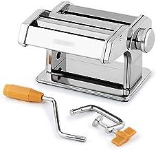 ادوات صنع المعكرونة باليد من ادوات المطبخ ، فولاذ مقاوم للصدأ معكرونة معكرونة طازجة آلات يدوية لآلات المطاعم 2 شفرات، فضي