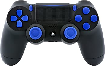 Black/Blue PS4 Playstation 4 Pro Rapid Fire Modded Controller for COD Black Ops 3, IW, Ghosts, Destiny, Battlefield 1: Quick Scope, Drop Shot, Auto Run, Sniped Breath, Mimic and More CUH-ZCT2
