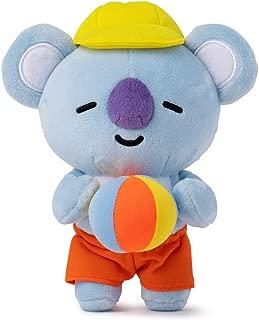 BT21 Official Merchandise by Line Friends - KOYA Character Bon Voyage Standing Plush Dolls