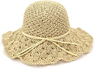 LiJuan Shen 2019 Summer Bucket Hat Summer Women Folding Crochet Hollow Lady Sun Hat Dome Sombrero Straw Hat Beach Hat