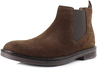 Clarks Paulson Up, Bottine Chelsea Homme