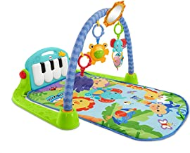 Newborn Baby Play Mat for Piano Gym Is Suitable for Birth Playing, Including Activity Center with Music And Sound,Green