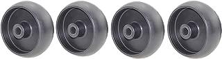 Outdoors & Spares Set of 4 Deck Wheel Replace John Deere GX10168, R11819, L100 & G100 Mowers OEM Spec