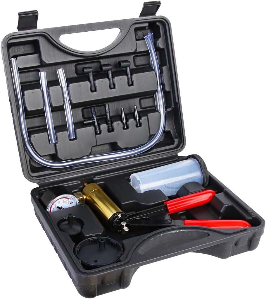 Copap Hand Manufacturer direct delivery Held Ranking TOP6 Vacuum Pump Test Kit with Set Adap Brake Bleeder
