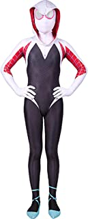 Womens Superhero Zentai Suits Halloween Cosplay Costumes 3D Style Audlt/Kids