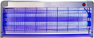 GUOWEI Lámpara del Mosquito Luces Led Descarga Eléctrica Montado En La Pared Operación De Graves Interior 3 Modelos (Color : La Plata, Tamaño : 64x5x26cm-6W)