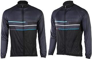 VGEBY Jersey de Ciclismo de Manga Larga para Hombre, Camisa de Manga Larga Transpirable y de Secado rápido