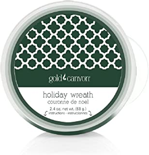 Gold Canyon Candles Scent Pod Wickless Candle (Holiday Wreath)