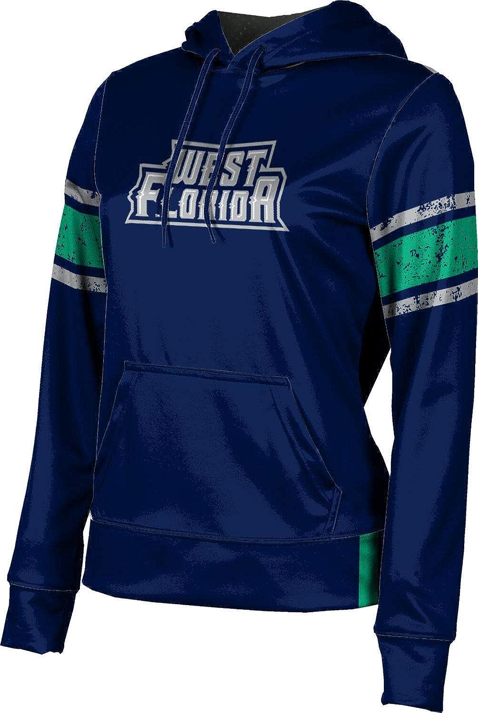 ProSphere University of West Florida Girls' Pullover Hoodie, School Spirit Sweatshirt (End Zone)