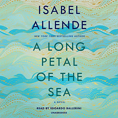 Page de couverture de A Long Petal of the Sea
