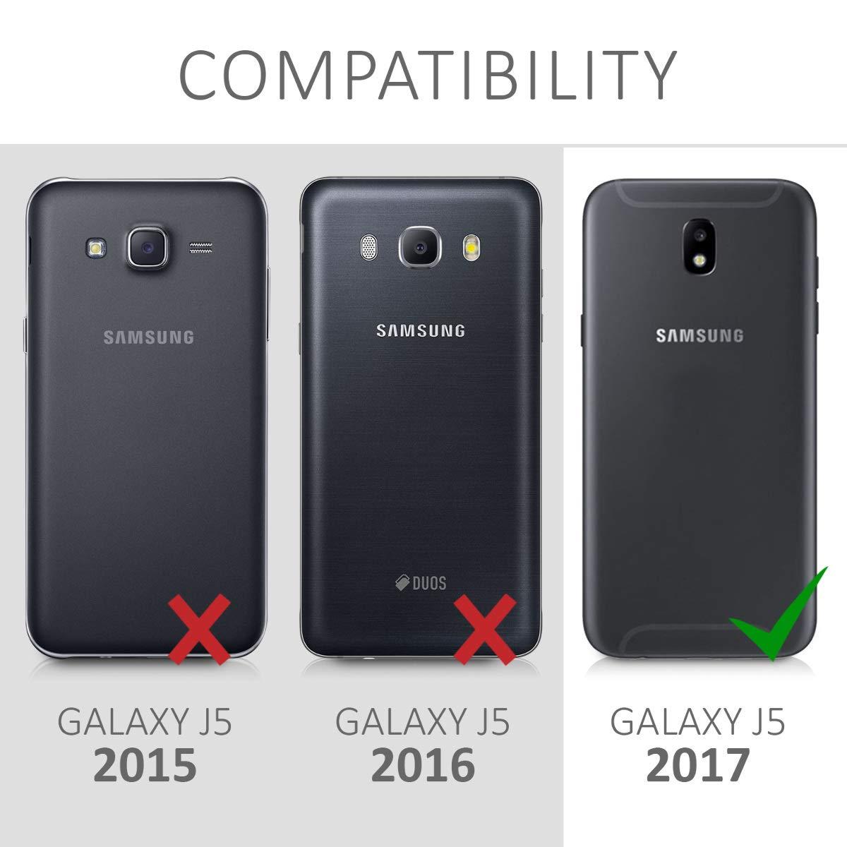 kwmobile Funda Compatible con Samsung Galaxy J5 (2017) DUOS ...