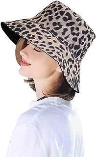 DOCILA Reversible Leopard Bucket Hats Women Fashion Floppy Sun Cap Packable Fisherman Hat