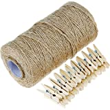 An Amazon find of twine and clothespin combo!