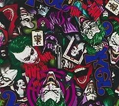 The Joker Color - Mr J - Dark Knight - 1 meter- Hydrographics Film - Hydro Dip Film - Hydro Dipping - Hydrographic Fillm - Southern Hydrographics