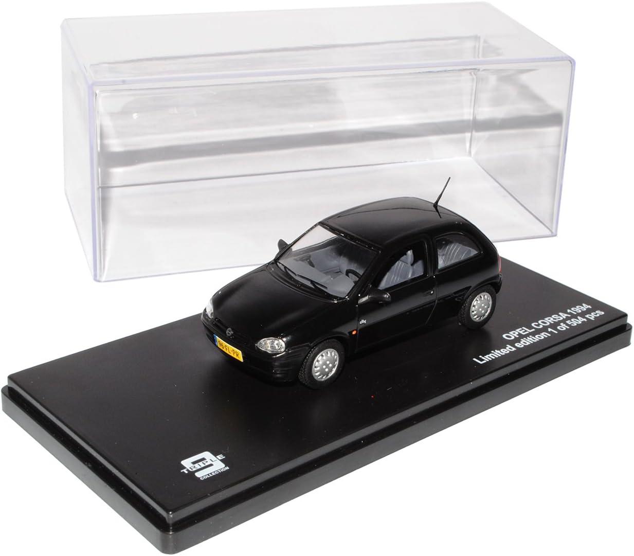 Ixo Opel Corsa B Schwarz 3 Türer 1993 2000 Limitiert Triple 1 43 Modell Auto Mit Individiuellem Wunschkennzeichen Spielzeug