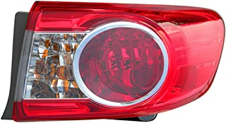 toyota corolla 2013 tail light replacement