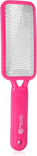 Foot File Callus Remover Colossal Foot Rasp by Beautify Beauties, Best Foot Scrubber for Dry Feet, Exfoliates, Removes Hard Skin, Leaves Feet Smooth and Soft (Pink)