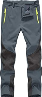 Rdruko Women's Winter Waterproof Softshell Fleece Lined Ski Snow Insulated Pants