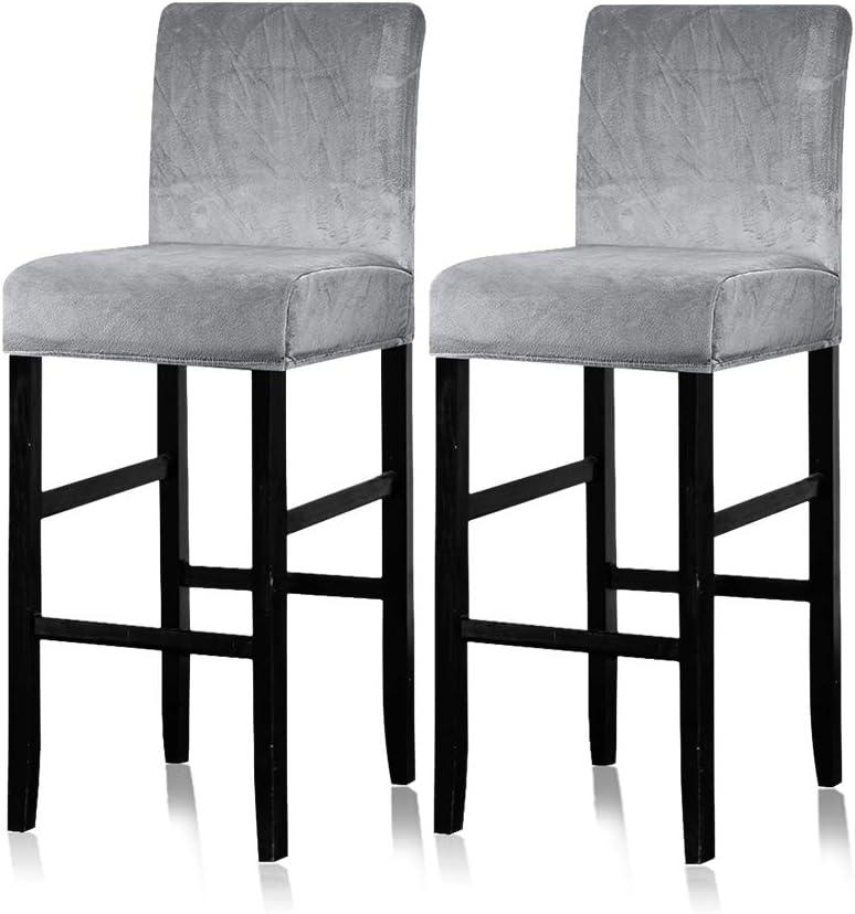 Lellen 2 Pack - Popularity Counter Stool Pub Velvet Chair Covers Slipcover Super-cheap