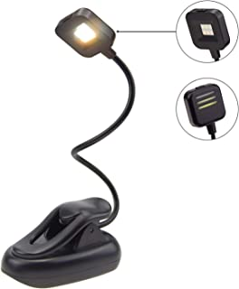 BIGLIGHT Reading Light for Books in Bed, Clip On Book Light for Kids, Battery Operated LED Book Light for Reading in Bed a...