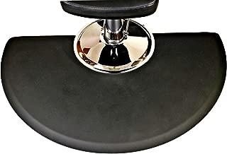 Rhino Mats CCC3660SC Comfort Craft Classic Salon Semi-Circle Mat, 3' Width x 5' Length x 3/4