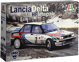 Italeri 3658S Lancia HF Integrale-Maqueta de construcción (Escala 1:24), Color Plateado
