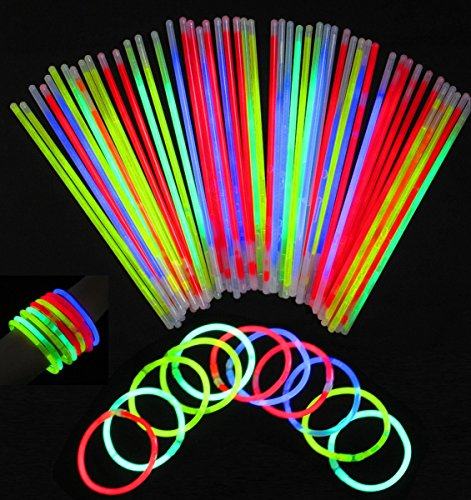 Seiler24 100 Knicklichter extra lang und Leuchtstark