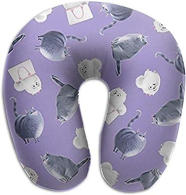 Amazon.com: InBlossoms Portable Travel Pillow, Lightweight Neck ...