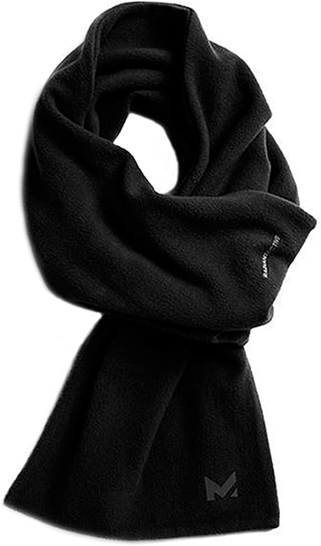 Mission RadiantActive Performance Scarf, Black, One Size