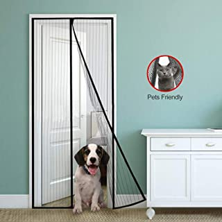 Mulslect Magnetic Screen Door Magnetic Curtain Fits 39