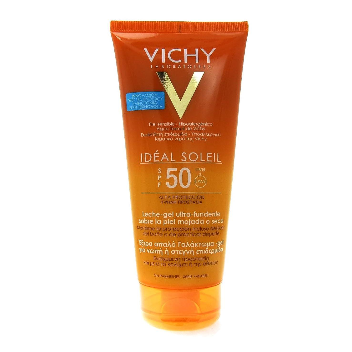 Vichy Capital Soleil Ideal Soleil Gel-cream Spf50 Face And Body 200ml [並行輸入品]
