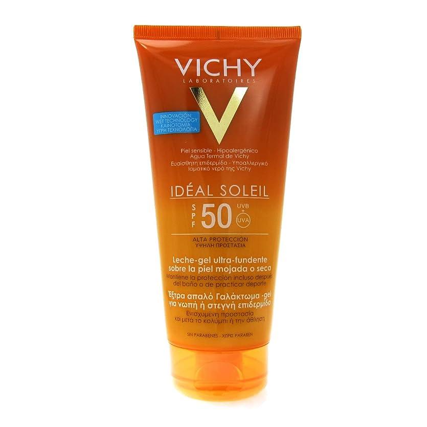 ブルジョンモジュール戦いVichy Capital Soleil Ideal Soleil Gel-cream Spf50 Face And Body 200ml [並行輸入品]