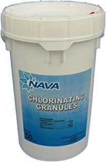 Nava Chlorinating Di-Chlor Granules - 50 lb. Bucket