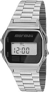Relógio digital unissex vintage mormaii mojh02aa3p
