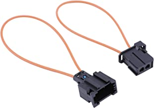 NCElec Most Optical Fiber Optic Loop Bypass Male Female Adapter Compatible with BMW Mercedes Benz Audi Porsche (Female + Male)