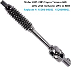 MORMOR M3004 Lower Intermediate Steering Shaft Assembly Fits 2005-2015 Toyota Tacoma 4WD & 2005-2015 PreRunner 2WD or 4WD(Replaces 45203-04021, 45203-04021)