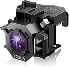 YOSUN Replacement Projector Lamp for Epson elplp41/v13h010l41 PowerLite Home Cinema 77c S5 78 S6 S6+ EX21 EX30 EX50 EX70 H283A H284A Projector Lamp Bulb with Housing