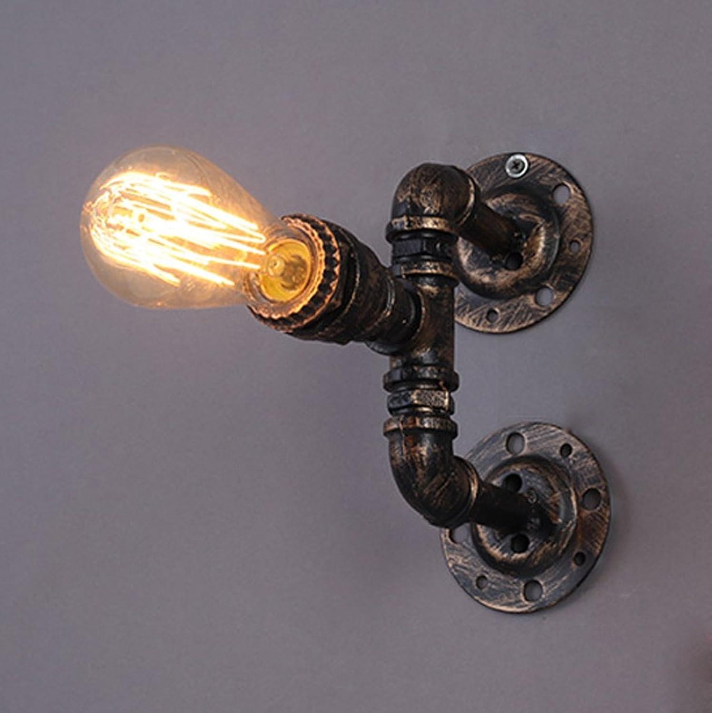 MEHE@ Mode Stilvoll Persnlichkeit kreativ Retro Industrial Wind Loft Bar Restaurant Cafe Lights American Aisle Schlafzimmer Nachttischlampe   E27