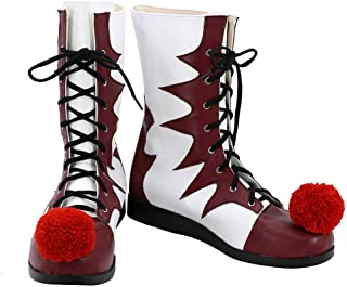 Clown Cosplay Shoes Halloween Costume Boots