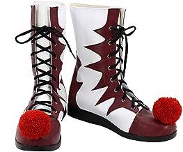 Mesodyn Clown Cosplay Shoes Halloween Costume Boots