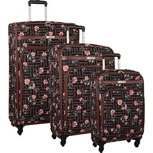 Nine West 3 Piece Lightweight Spinner Luggage Suitcase...