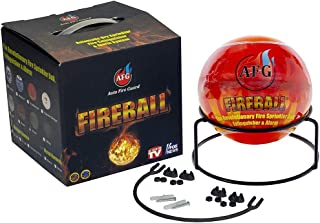 Automatic Fire Extinguisher Ball with Stand and Sign