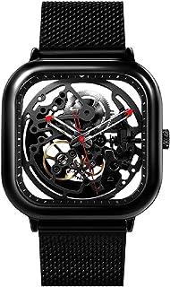 Reloj Relojes mecánicos para Hombres Relojes mecánicos automáticos de la muñeca Relojes de Acero Inoxidable dial Correa Fu...