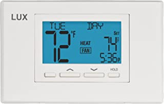 Lux Thermostat Program 7 day with selectable smart recovery, universal compatability