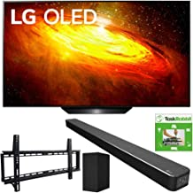 $2414 » LG OLED65BXPUA 65-inch BX 4K Smart OLED TV with AI ThinQ (2020) Bundle SN6Y 3.1 Channel High Res Audio Sound Bar + TaskRabbit Installation Services + Vivitar Low Profile Flat TV Wall Mount