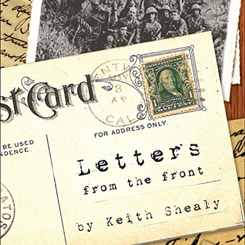 Letters from the Front audiobook cover art
