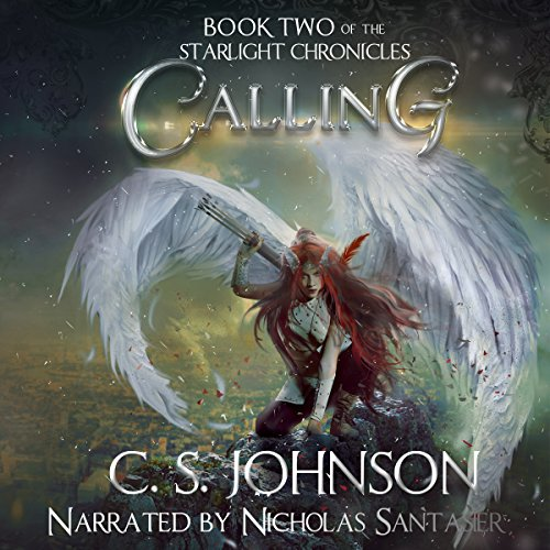 Calling audiobook cover art