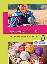 Con gusto nuevo B1: Kurs- und Übungsbuch + MP3-CD + DVD